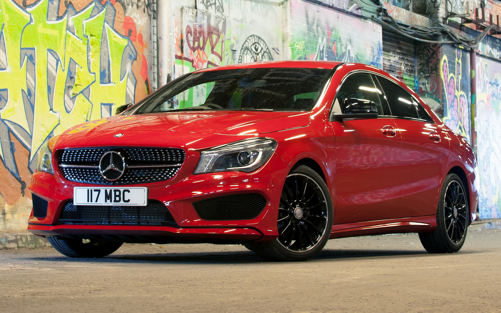 2013 Mercedes Benz CLA Class AMG Styling UK   Wallpapers and HD 1920x1200