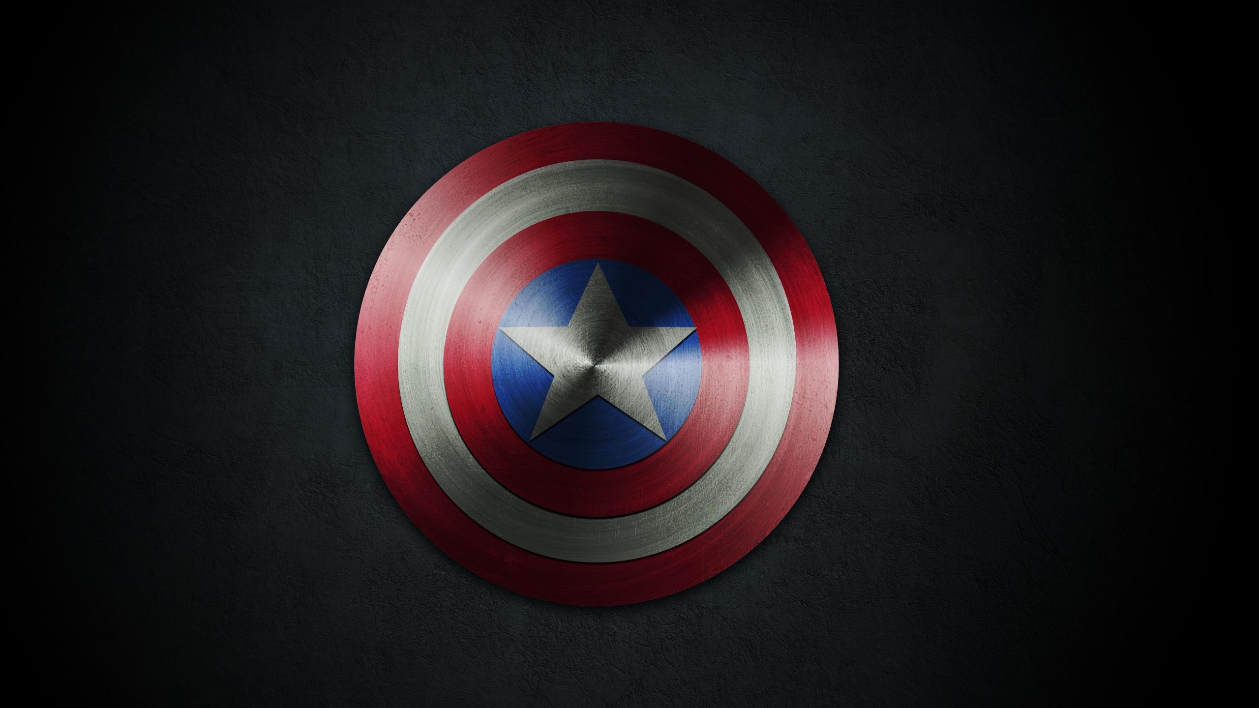Captain America Shield 28 Hd Wallpaper   Trendy Wallpapers 2560x1440
