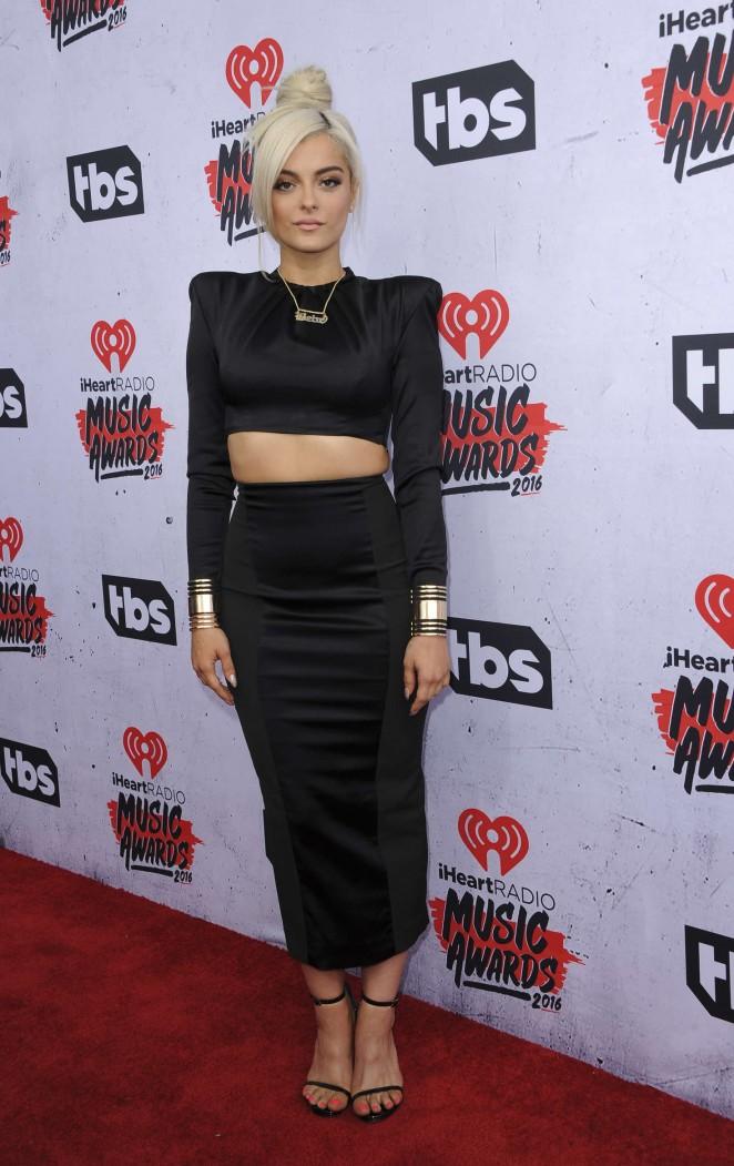 Bebe Rexha iHeartRadio Music Awards 2016  01   GotCeleb 662x1051
