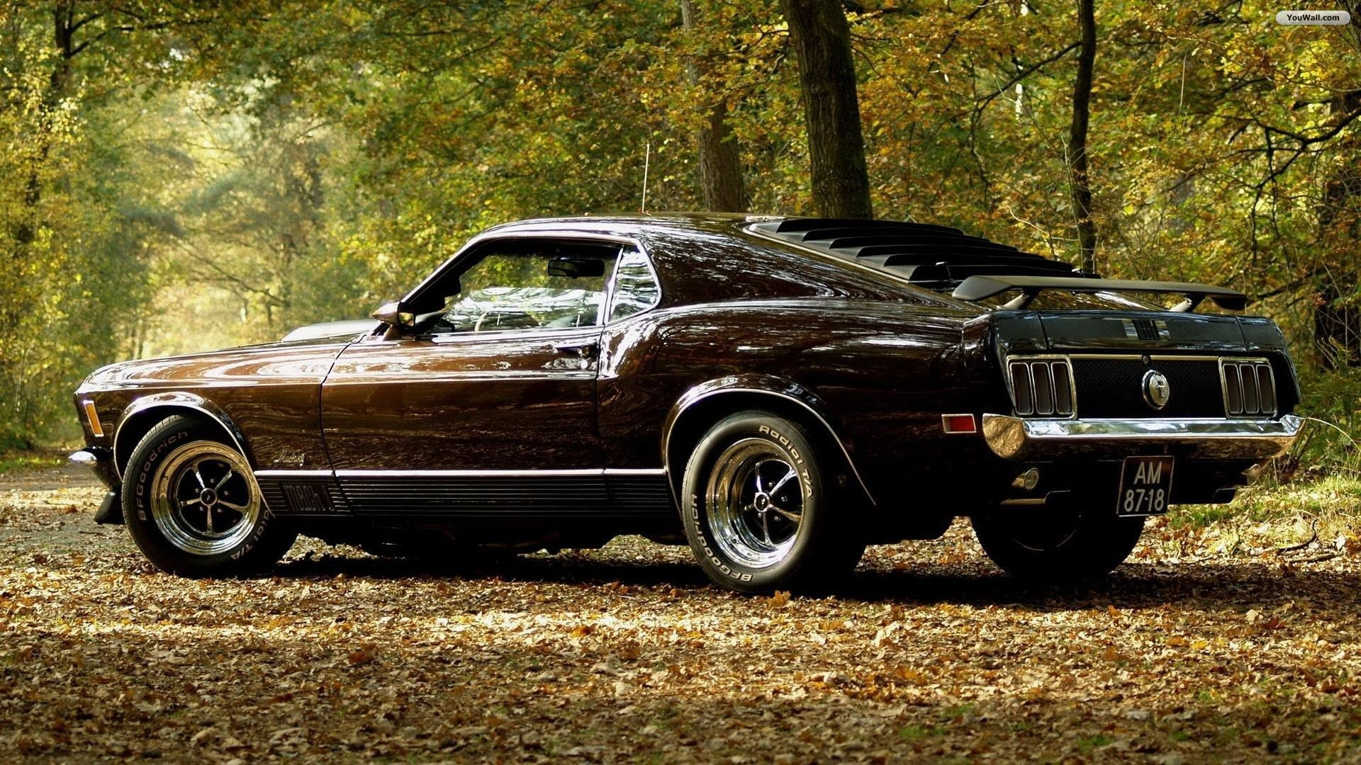 High Resolution Classic Muscle Car Ford Mustang Wallpaper HD 8 1920x1080