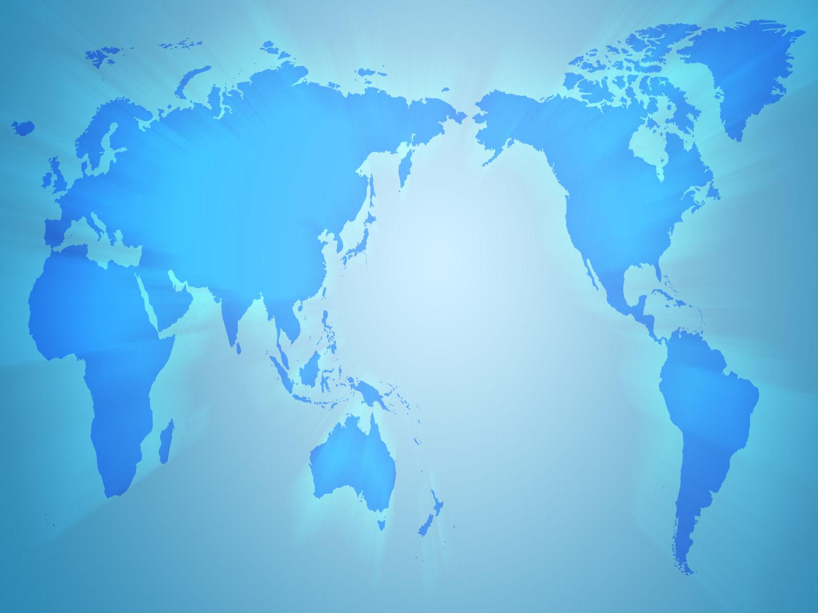 world map wallpaper blue 3d world map w 1600x1200