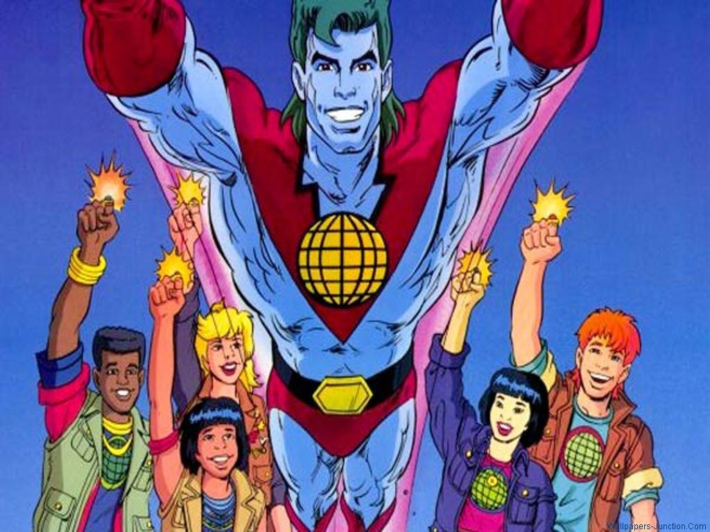 Captain Planet Wallpapers Captain Planet and the Planeteers Photo 1024x768