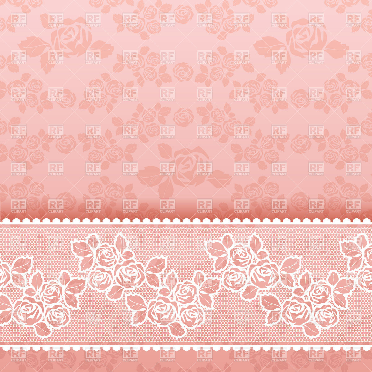 Pink vintage wallpaper with roses 18817 download royalty free vector 1200x1200