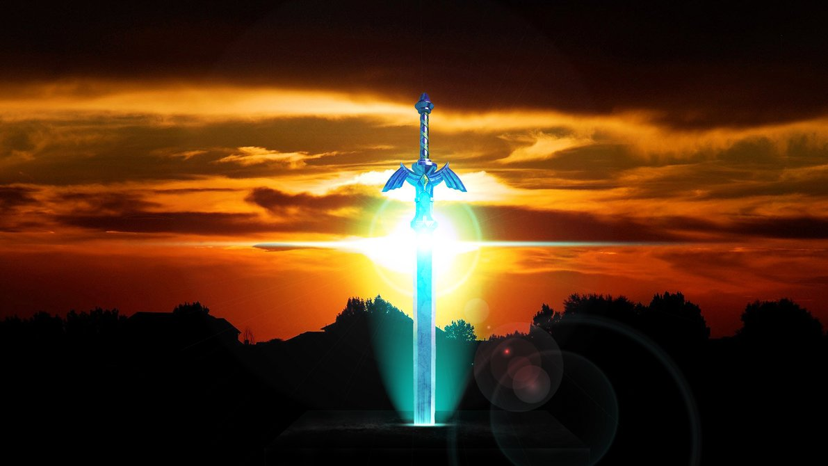 Master Sword Spazzygamergirl request Wallpaper by Hardii on 1191x670