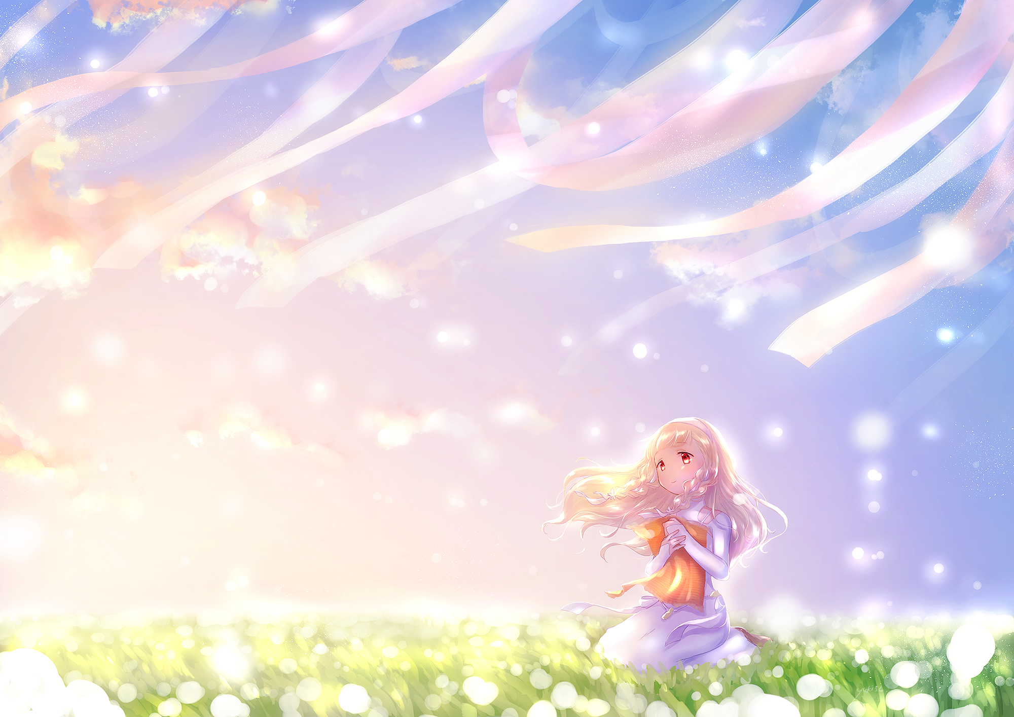 Maquia When the Promised Flower Blooms HD Wallpaper Background 2000x1414