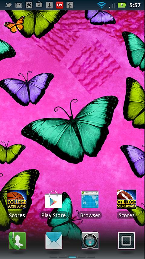 Butterflies Live Wallpaper   Android Apps and Tests   AndroidPIT 480x854