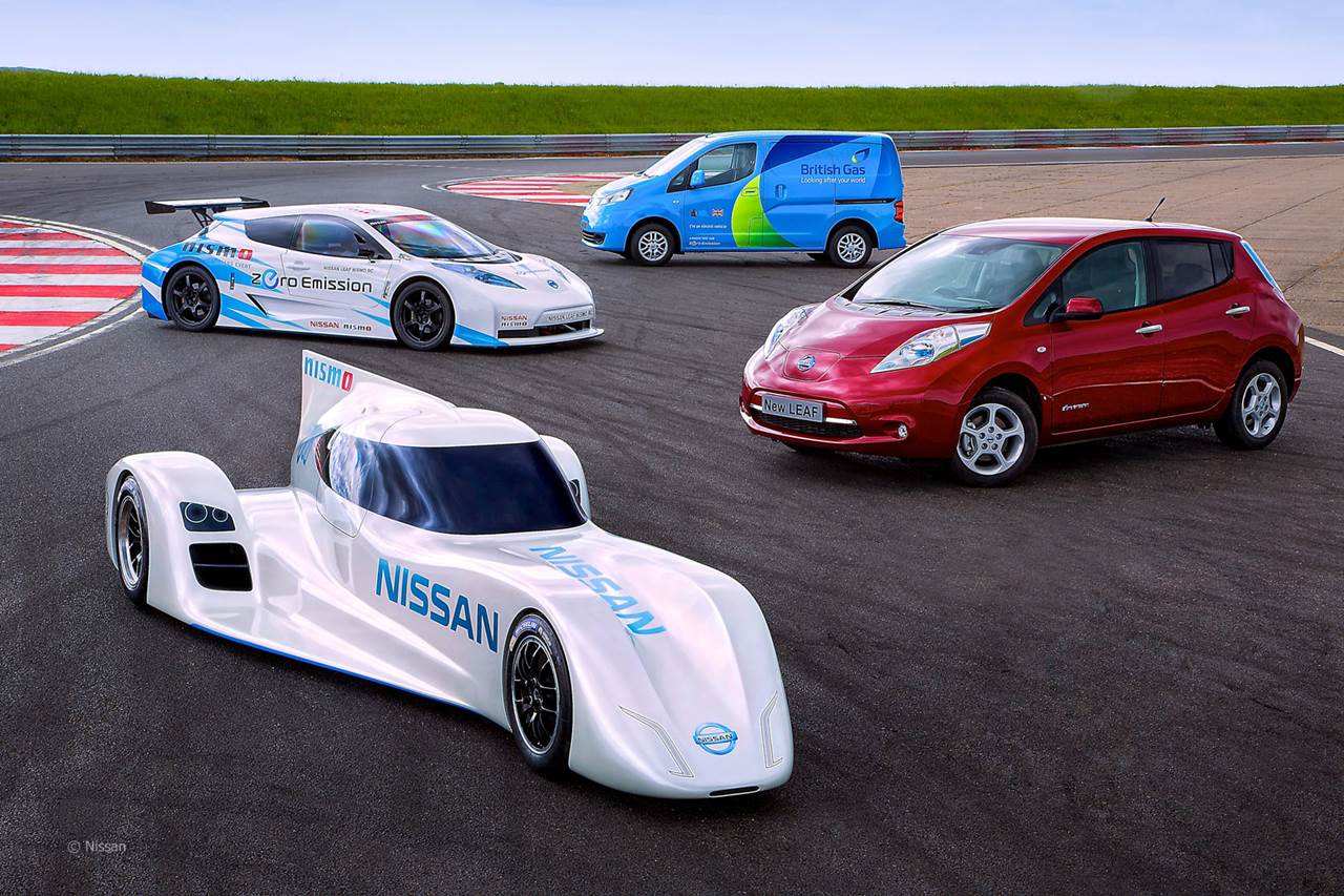 World Fastest Electric Car 2015 Nissan ZEOD RC Car Review Wallpapers 1280x853
