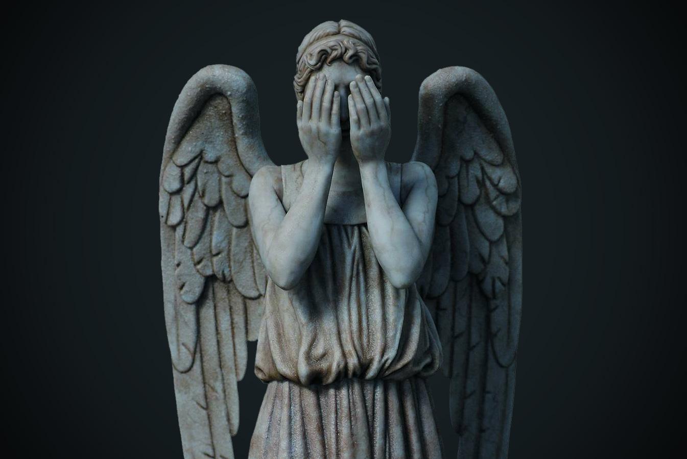 Weeping Angels Wallpaper HD   52DazheW Gallery 1345x900