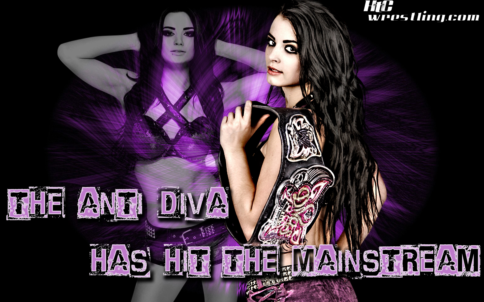 Wallpaper of the Week Paige The Anti Diva Arrives Hittin The 1920x1200