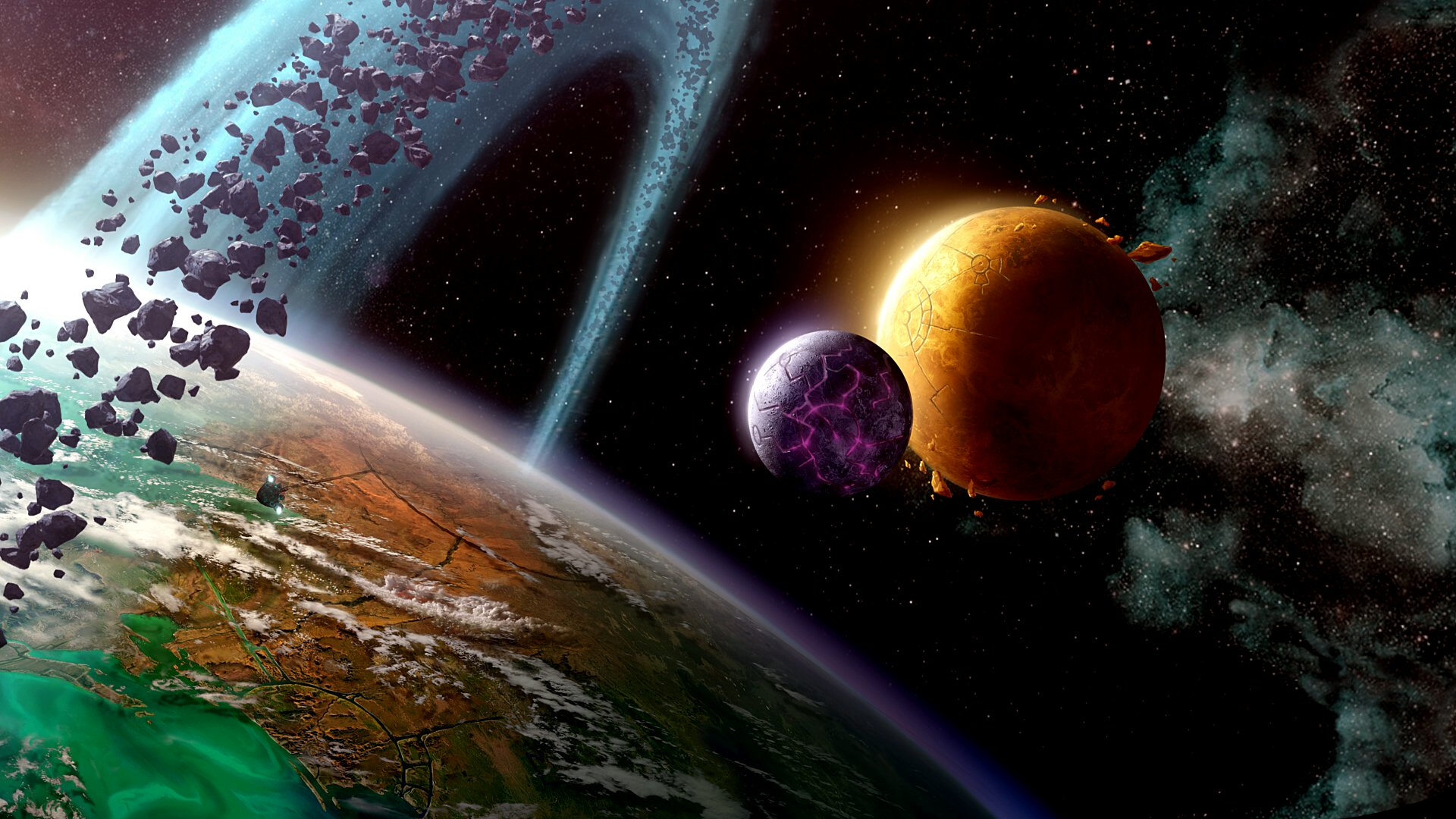 wallpaper space planet the - photo #7