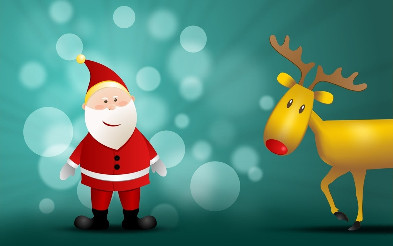 Download Cute Merry Christmas Wallpapers For Desktop4 1280x800