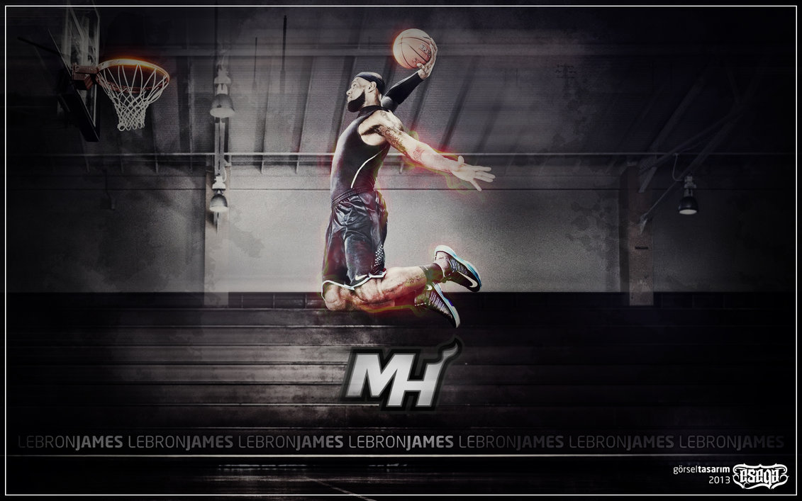 LeBron James Wallpaper by EsegaGraphic 1131x707