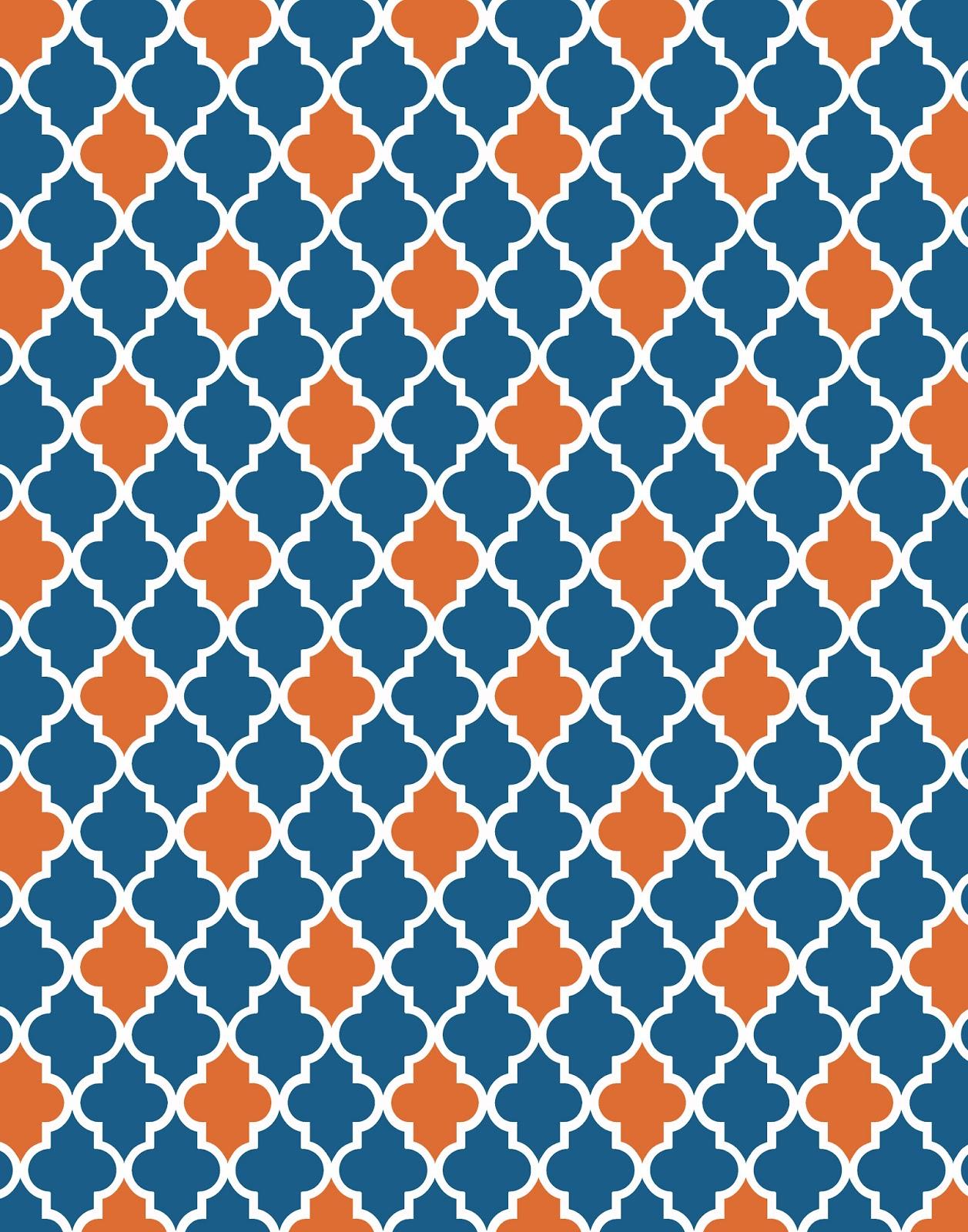 orange and blue wallpaper wallpapersafari