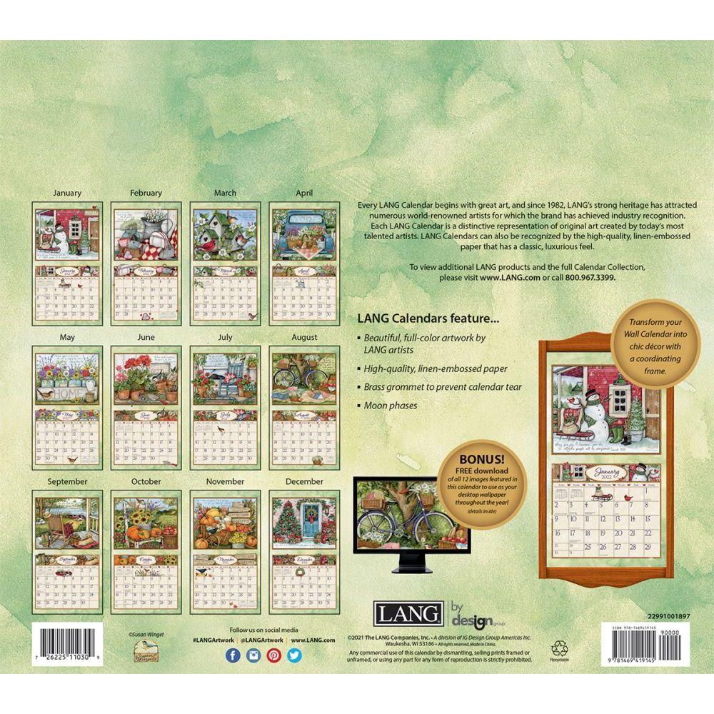 Bountiful Blessings 2022 Wall Calendar   Calendarscom 1000x1000