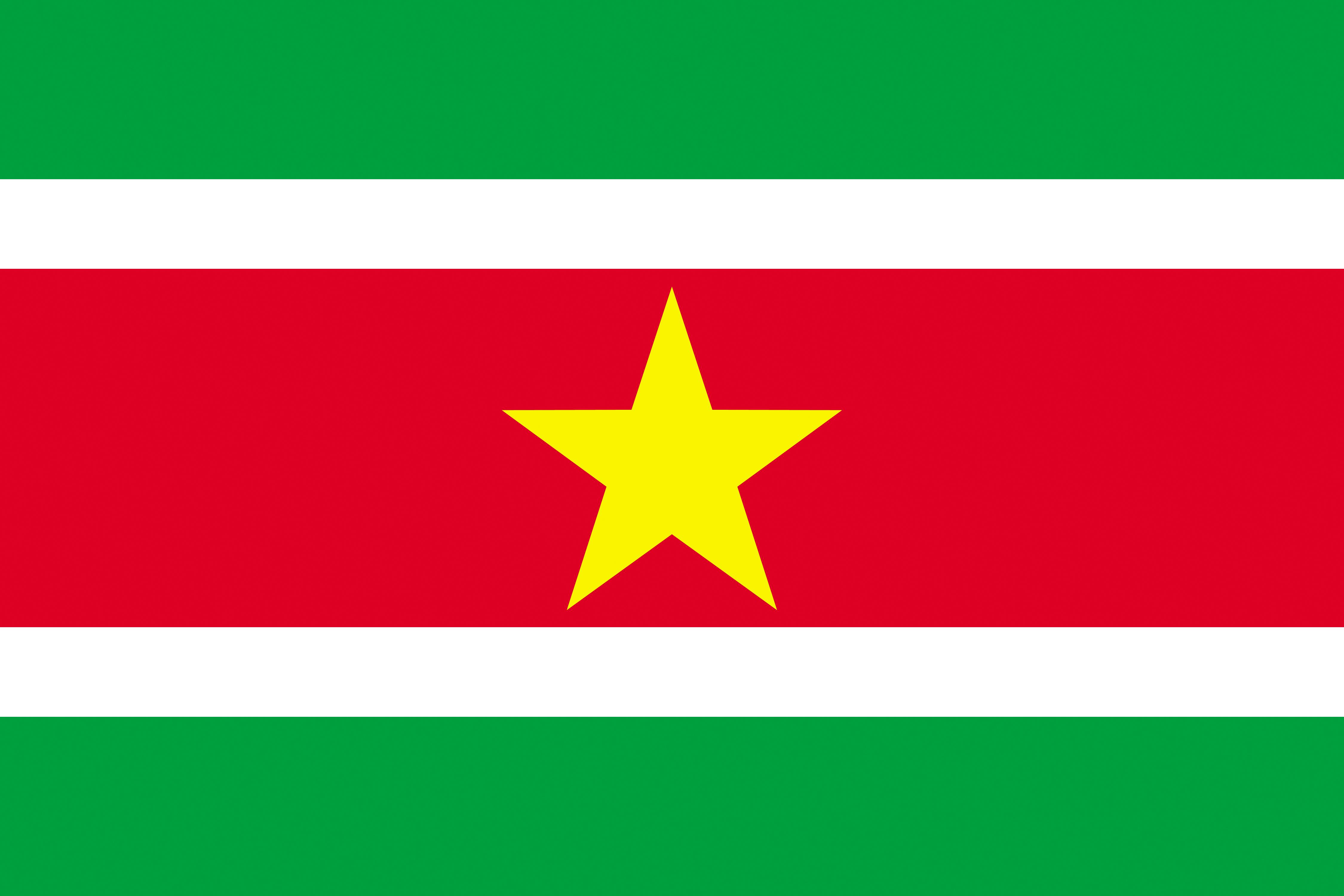 Picture Suriname Flag Stripes 4500x3000 4500x3000