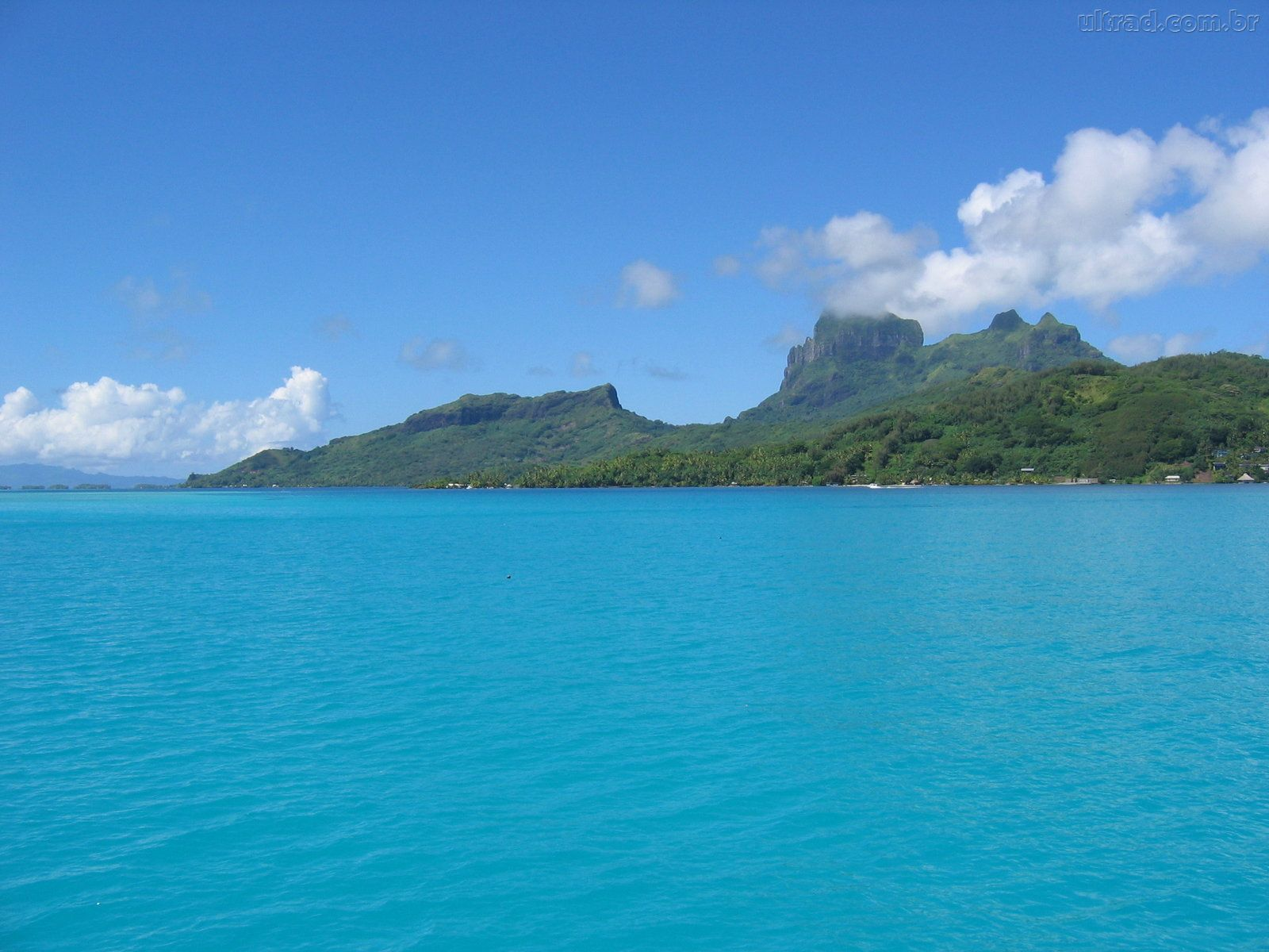 Bora Bora Wallpaper Tahiti - WallpaperSafari
