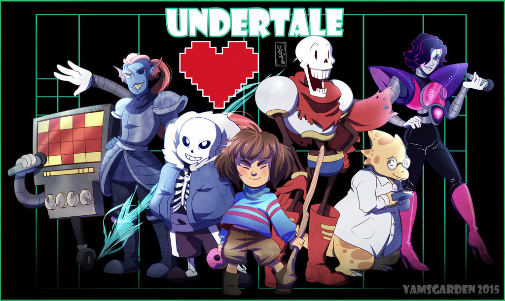 Undertale by YAMsgarden 1024x611