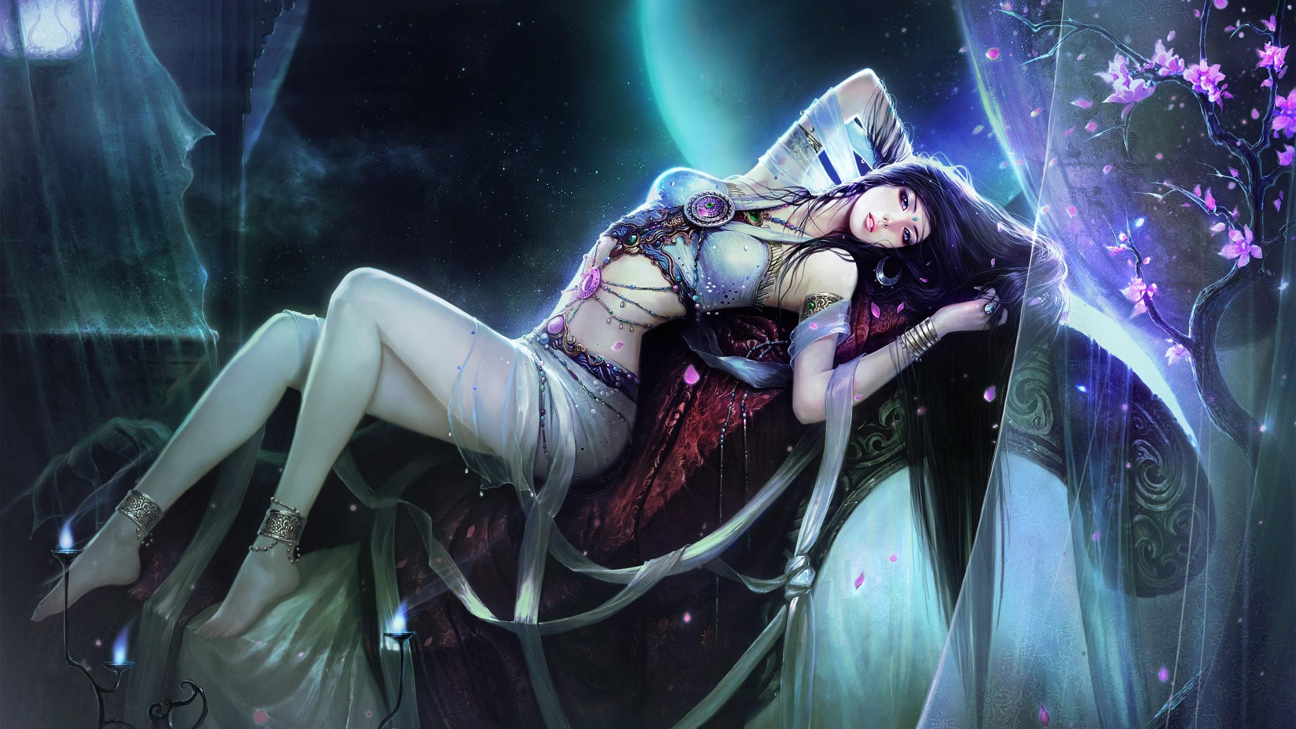 Beautiful Fantasy Girl Wallpapers HD Wallpapers 2560x1440