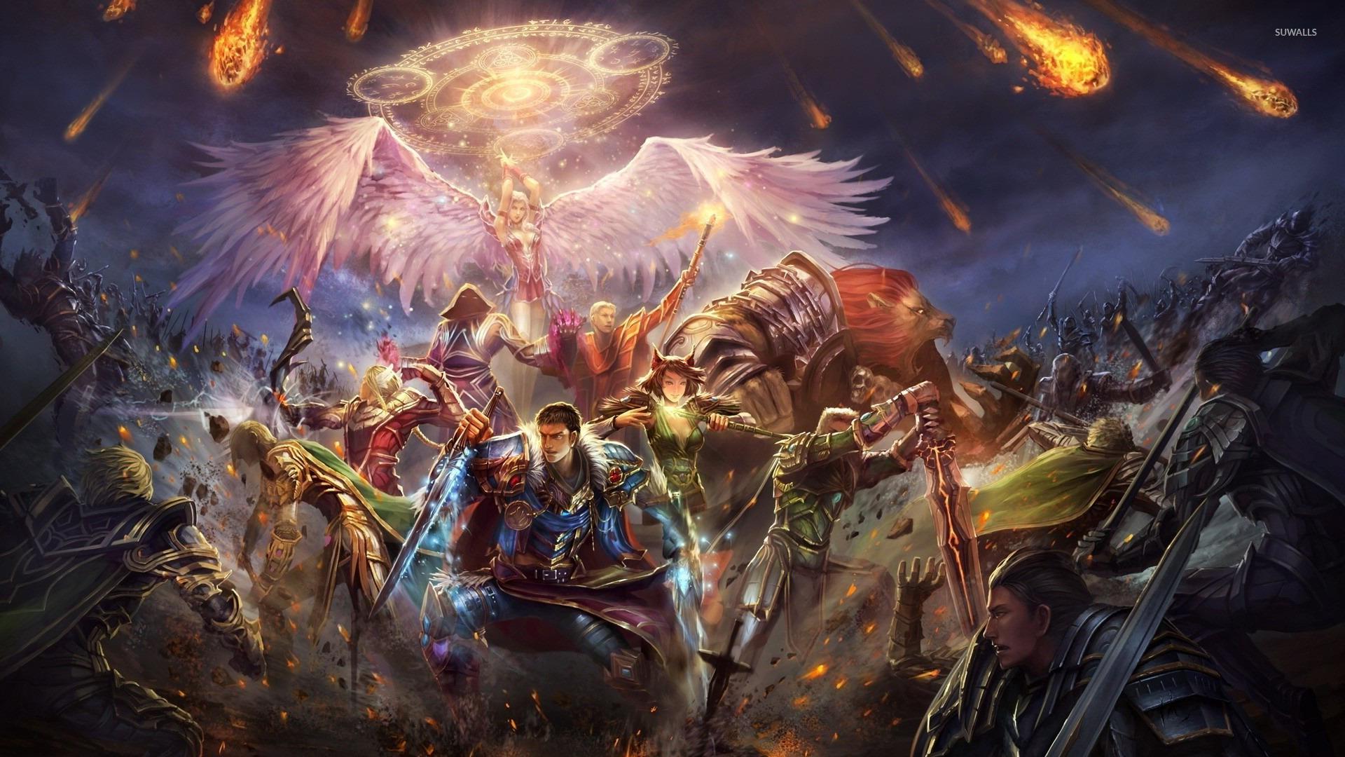 Epic Fantasy Wallpaper - WallpaperSafari