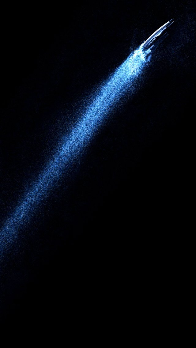 Mass effect normandy black background iPhone 5s wallpaper 640x1136