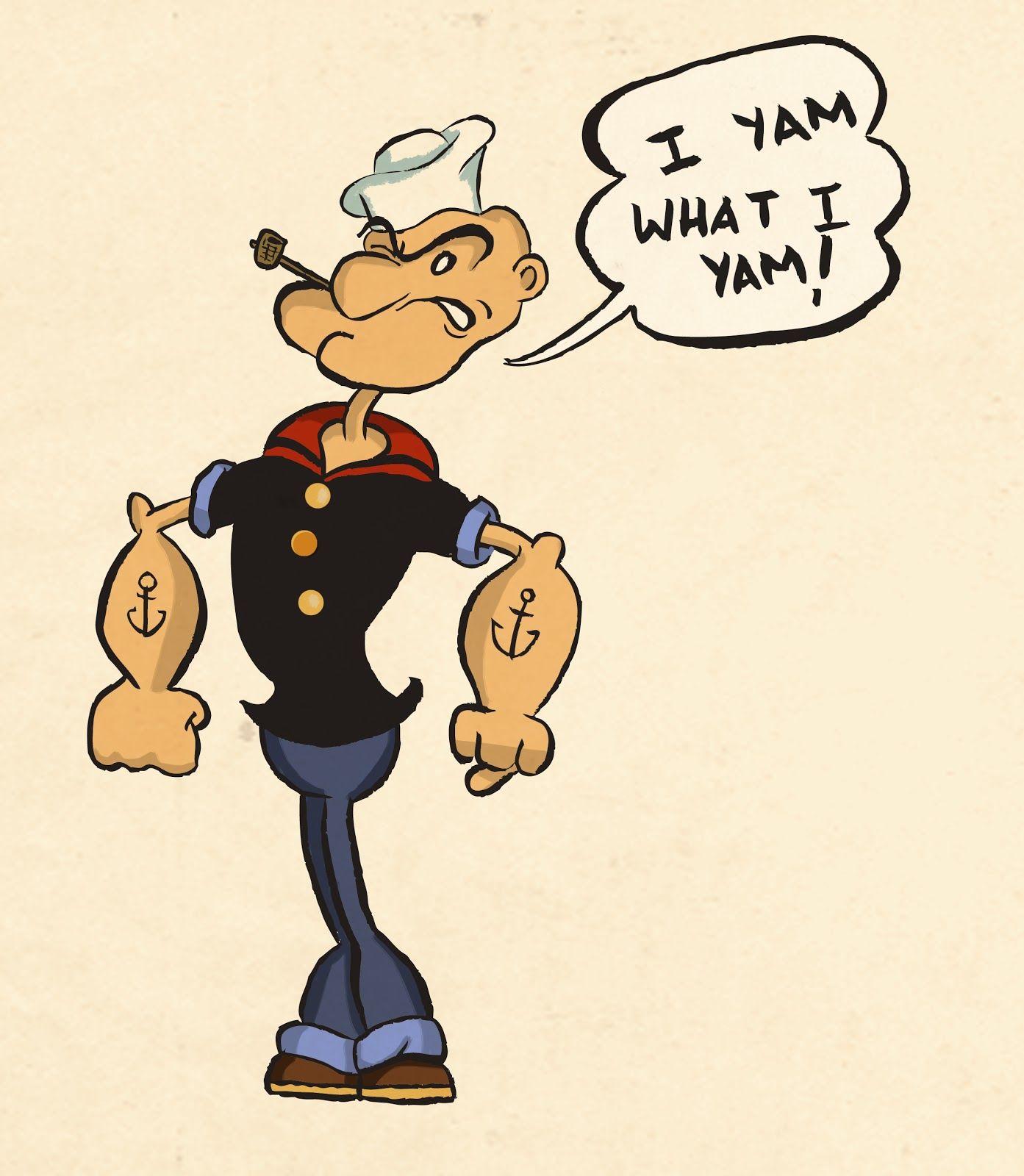 Popeye the Sailor Man Wallpapers Popeye the sailor man Popeye 1393x1600