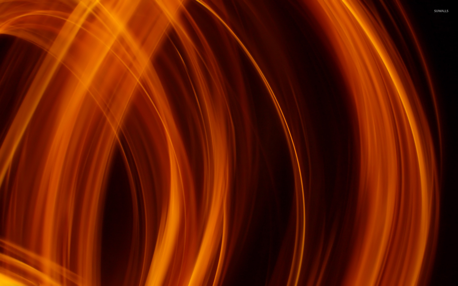 background download black flames flames abstract planet in flames 1920x1200