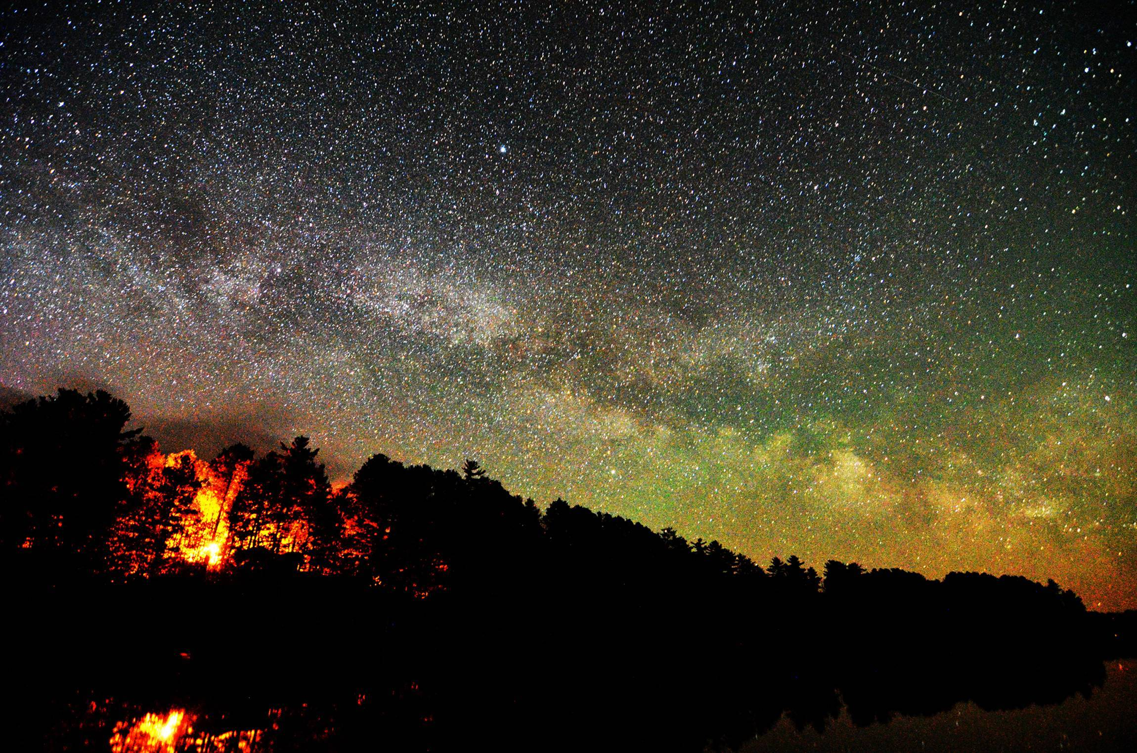 Real Night Sky Wallpaper Hd Night sky 2300x1524