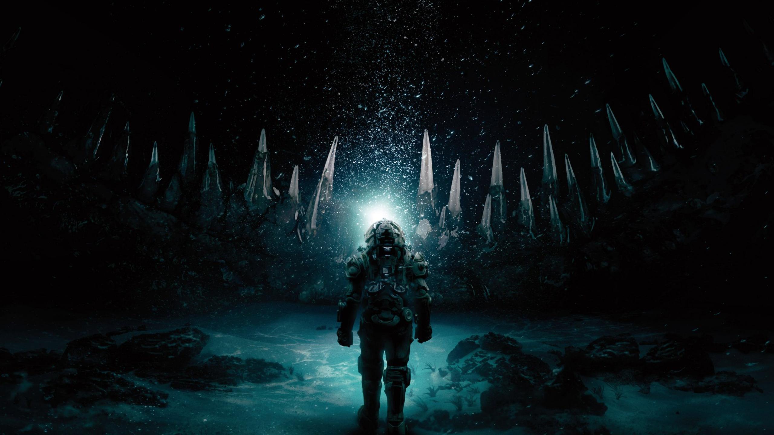2560x1440 Underwater 2020 Movie 1440P Resolution Wallpaper HD 2560x1440