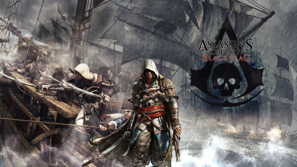Free Download Assassins Creed 4 Black Flag Wallpaper By Slydog0905