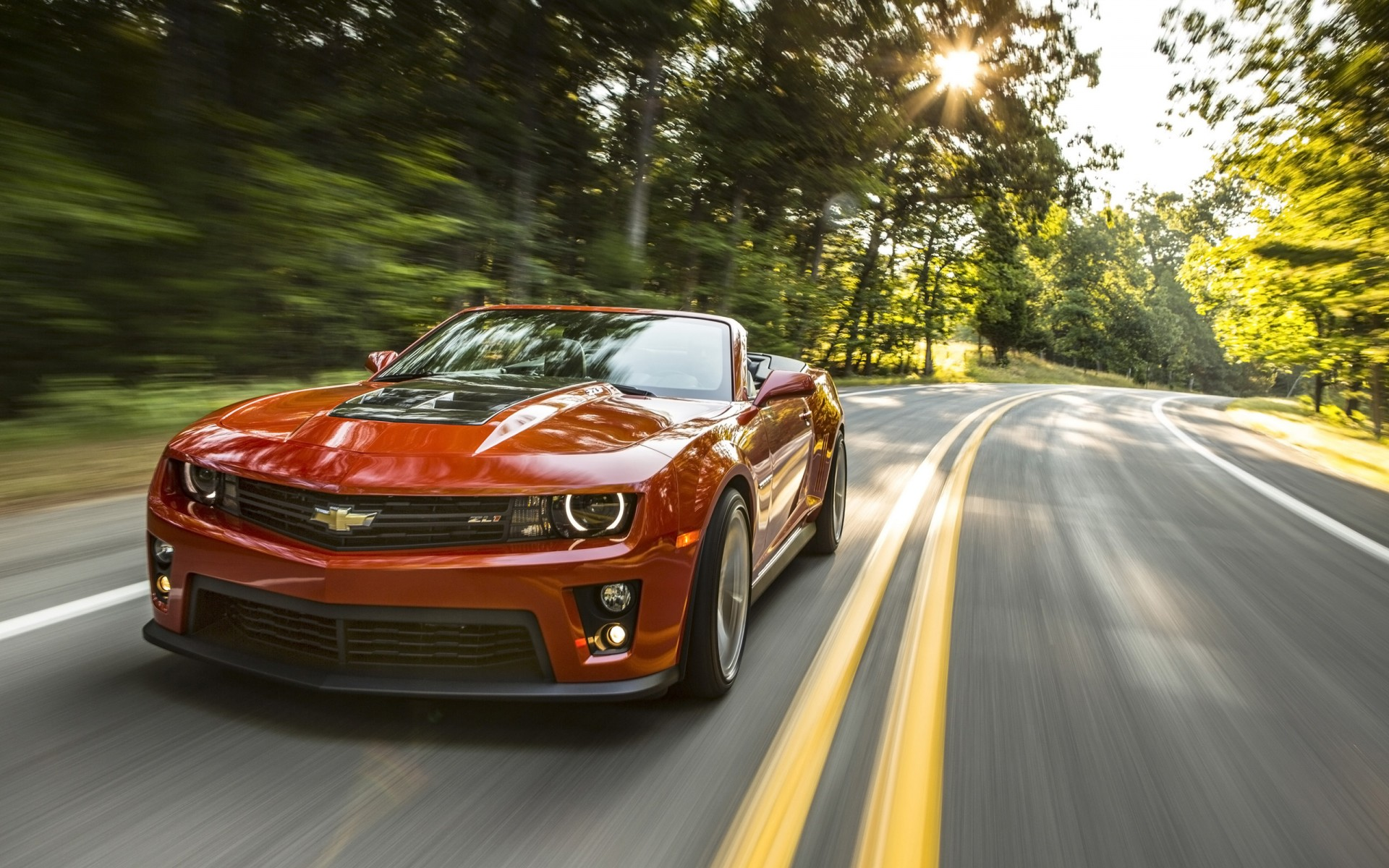 2014 Chevrolet Camaro ZL1 Convertible Wallpaper HD Car 1920x1200