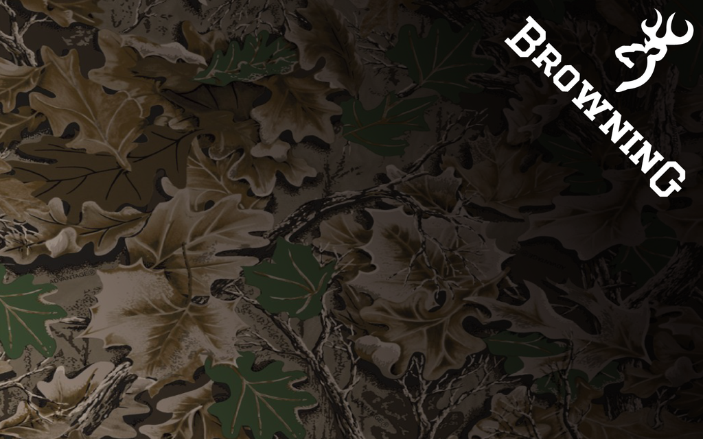 Browning Logo Camo Background Browning wallpaper by jb online 1024x640
