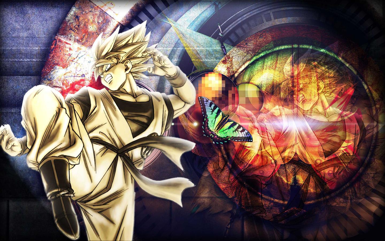 Goku jazano wallpapers anime drag n ball naruto pokemon yu 1440x900