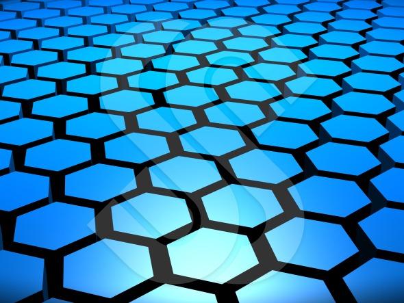 Hexagons In Nature