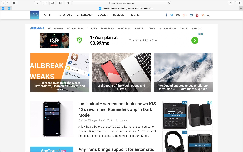 How to change your Safari Homepage on Mac iPhone and iPad 2880x1800
