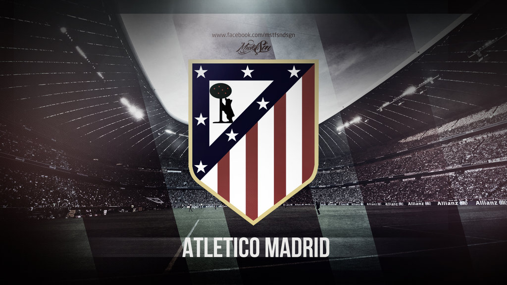 Atletico Madrid Wallpaper by MustafaSenGraphic 1024x576