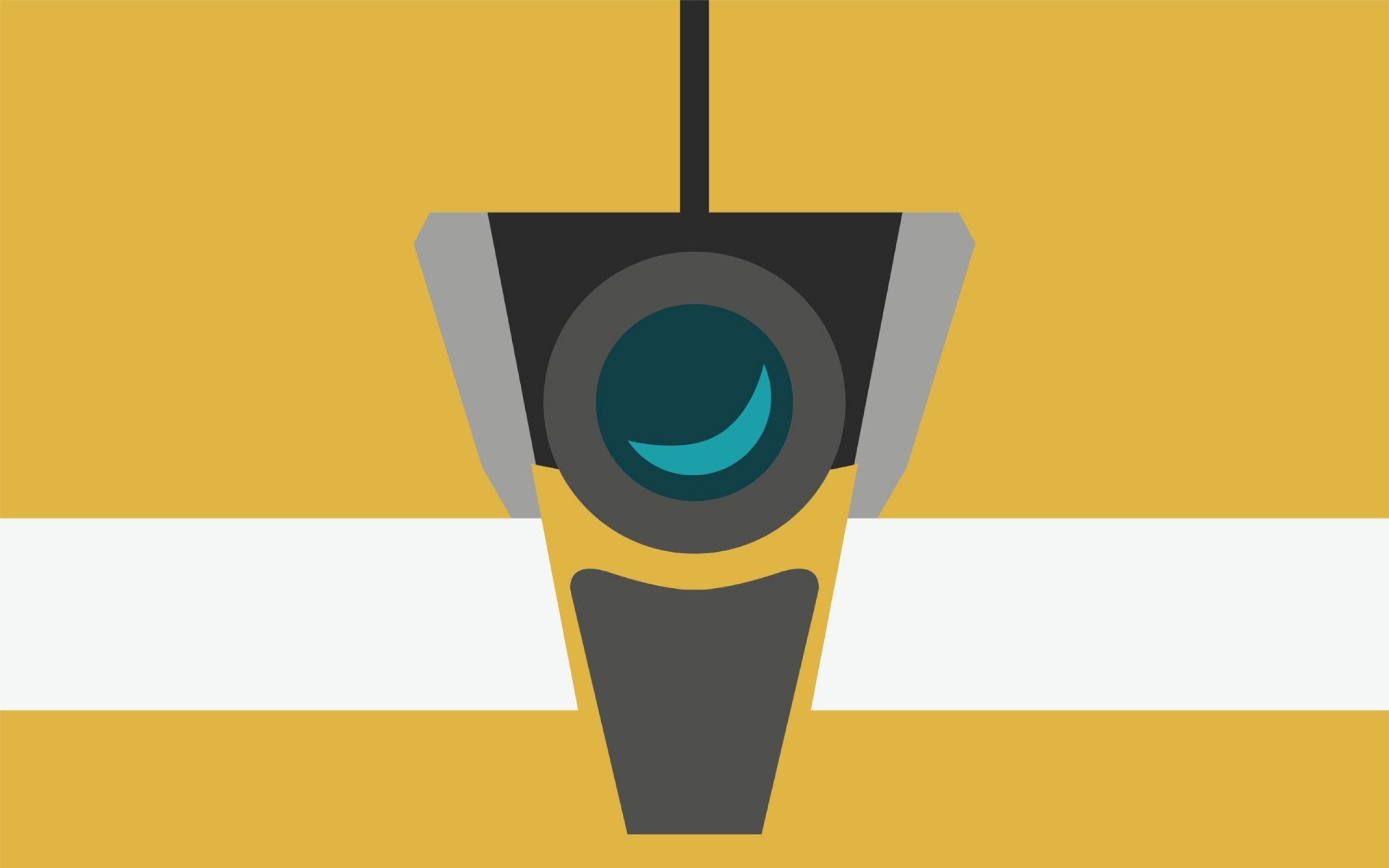 HD Claptrap Wallpaper 2560x1600