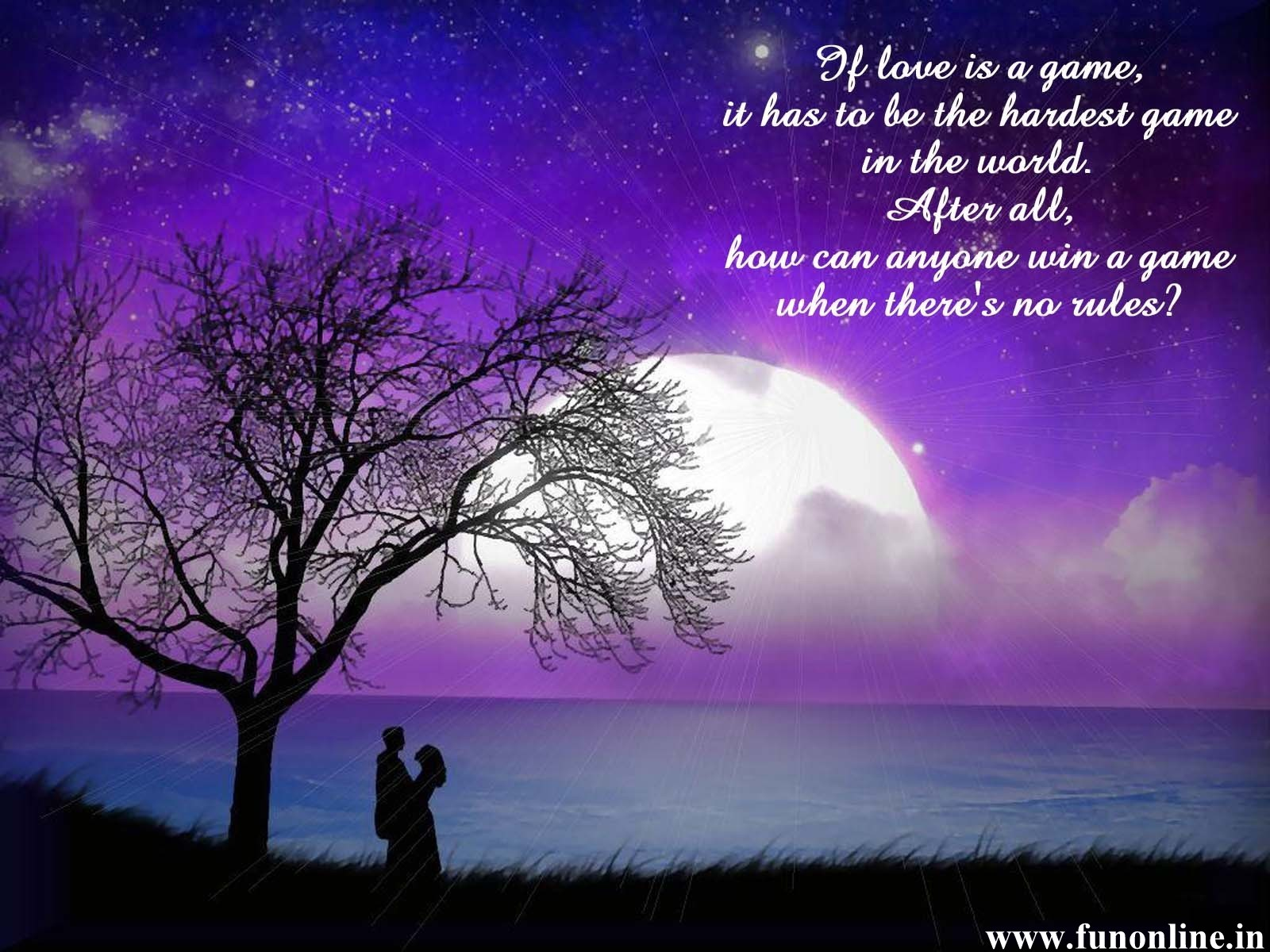 True Love Wallpaper With Quotes