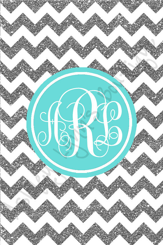 chevron initials wallpaper with o - photo #16