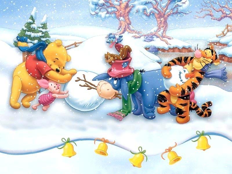 Winnie the Pooh Christmas - Christmas Wallpaper (2735506) - Fanpop