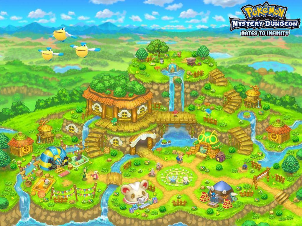 Pokemon Mystery Dungeon   Pokemon Mystery Dungeon Gates To 1024x768