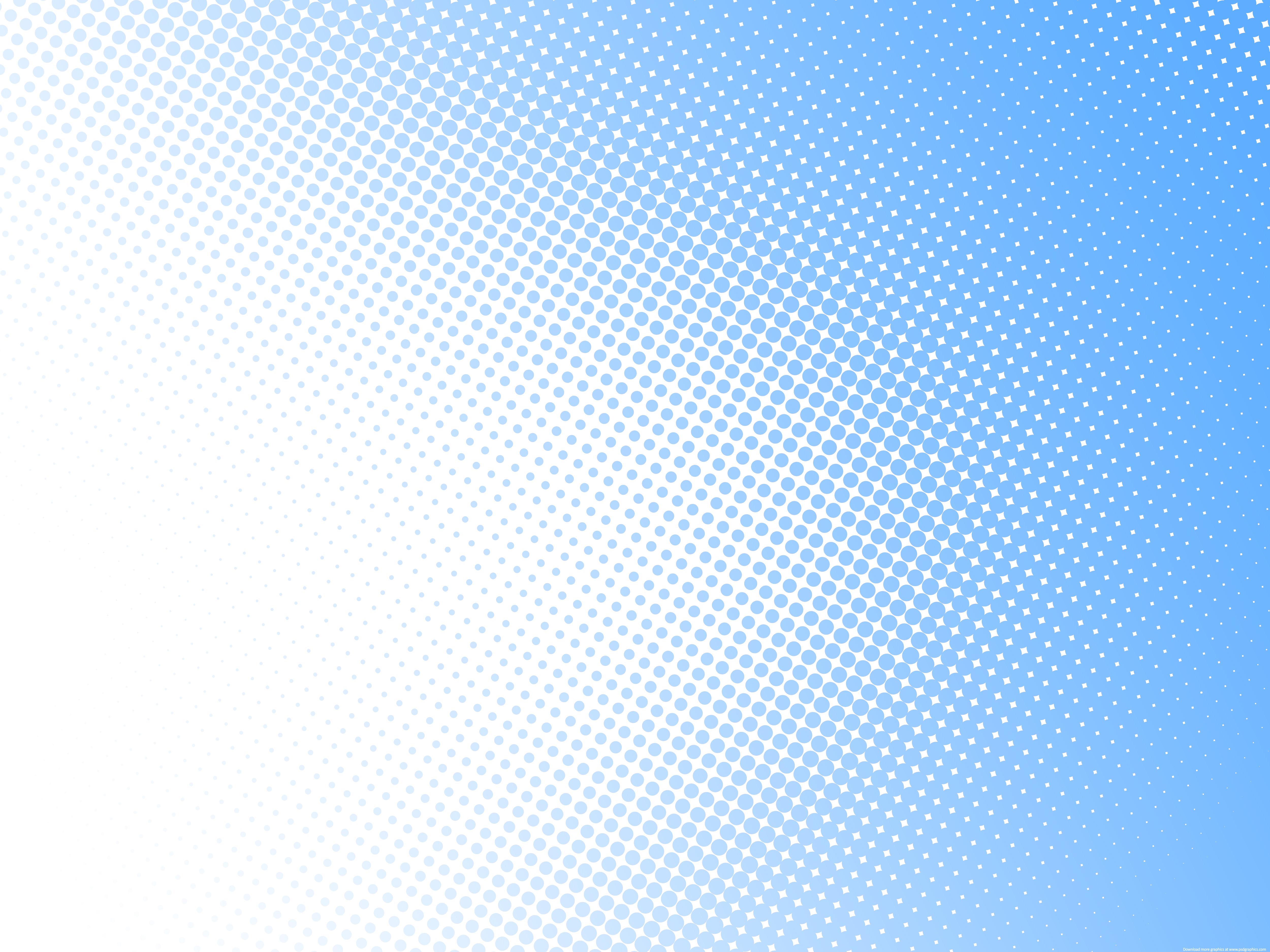 Light blue halftone pattern PSDGraphics 5000x3750