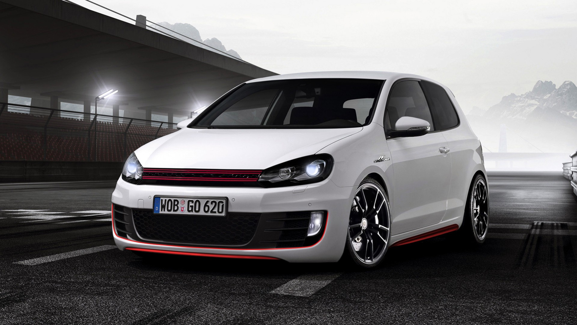 Volkswagen Golf GTI Sport HD Picture Wallpaper Wallpapers HD Picture 1920x1080