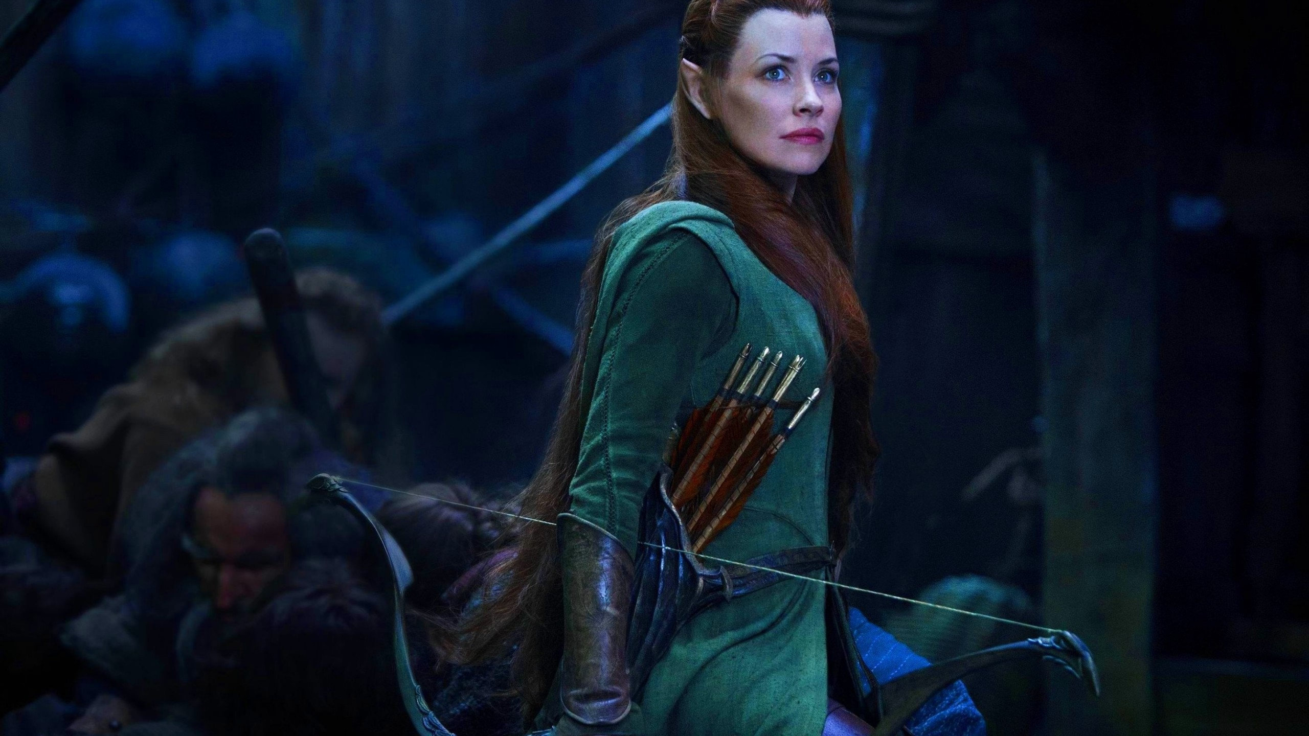 Evangeline Lilly In The Hobbit wallpaper   1423523 2560x1440