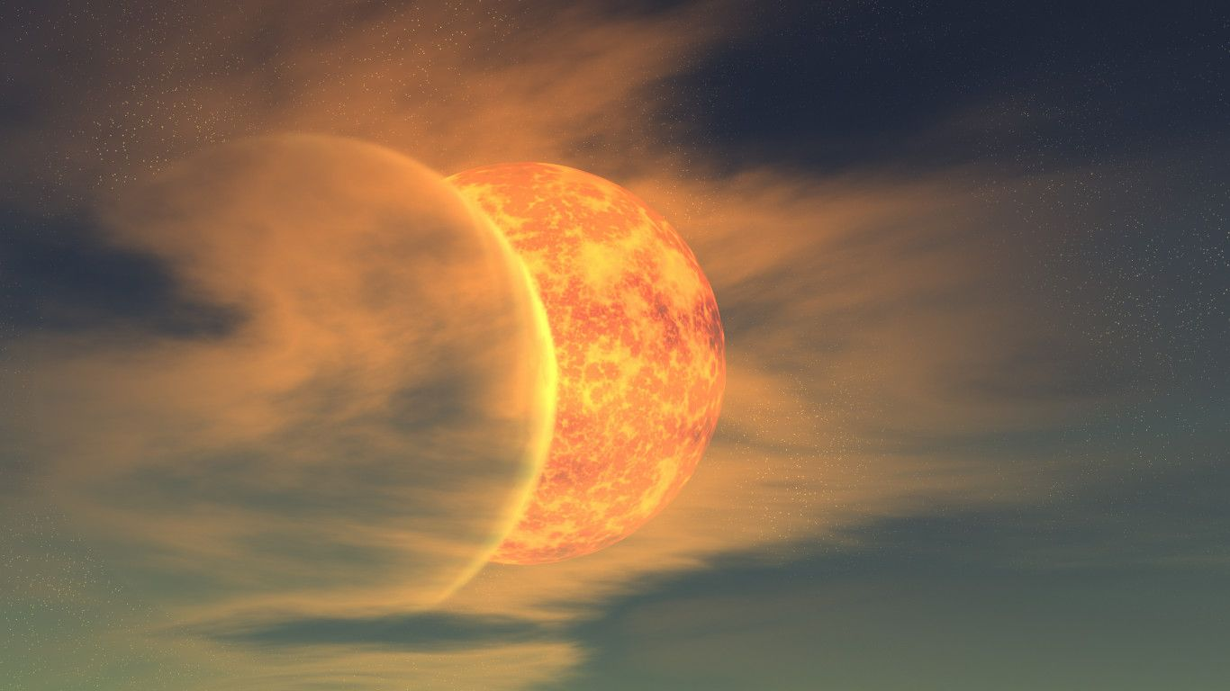 Sun and Moon Wallpapers - WallpaperSafari