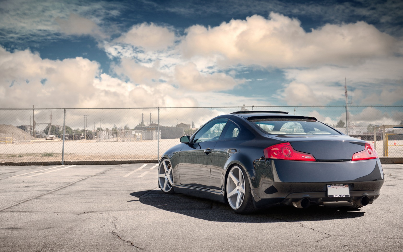 Gallery For gt Stanced G35 Coupe Wallpaper 1680x1050