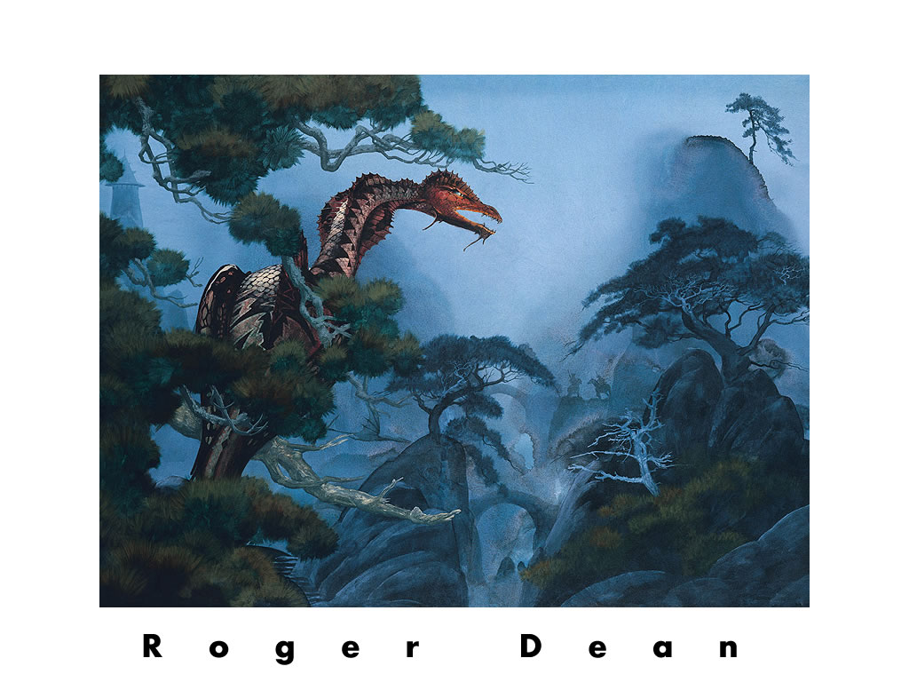 roger dean wallpaper for iphone wallpapersafari
