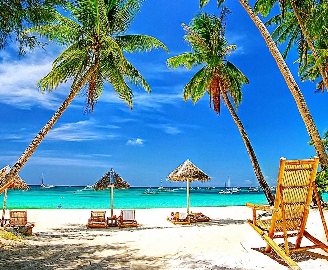 Tropical Paradise Beach HD desktop wallpaper High Definition 1134x934