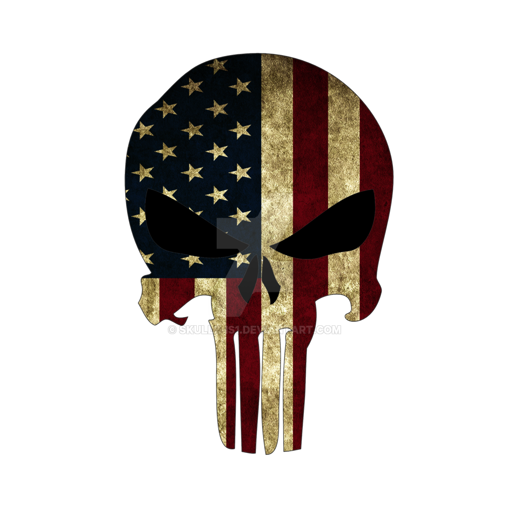 American Flag Punisher Skull Wallpaper Facebook Comments Plugin 1024x1024