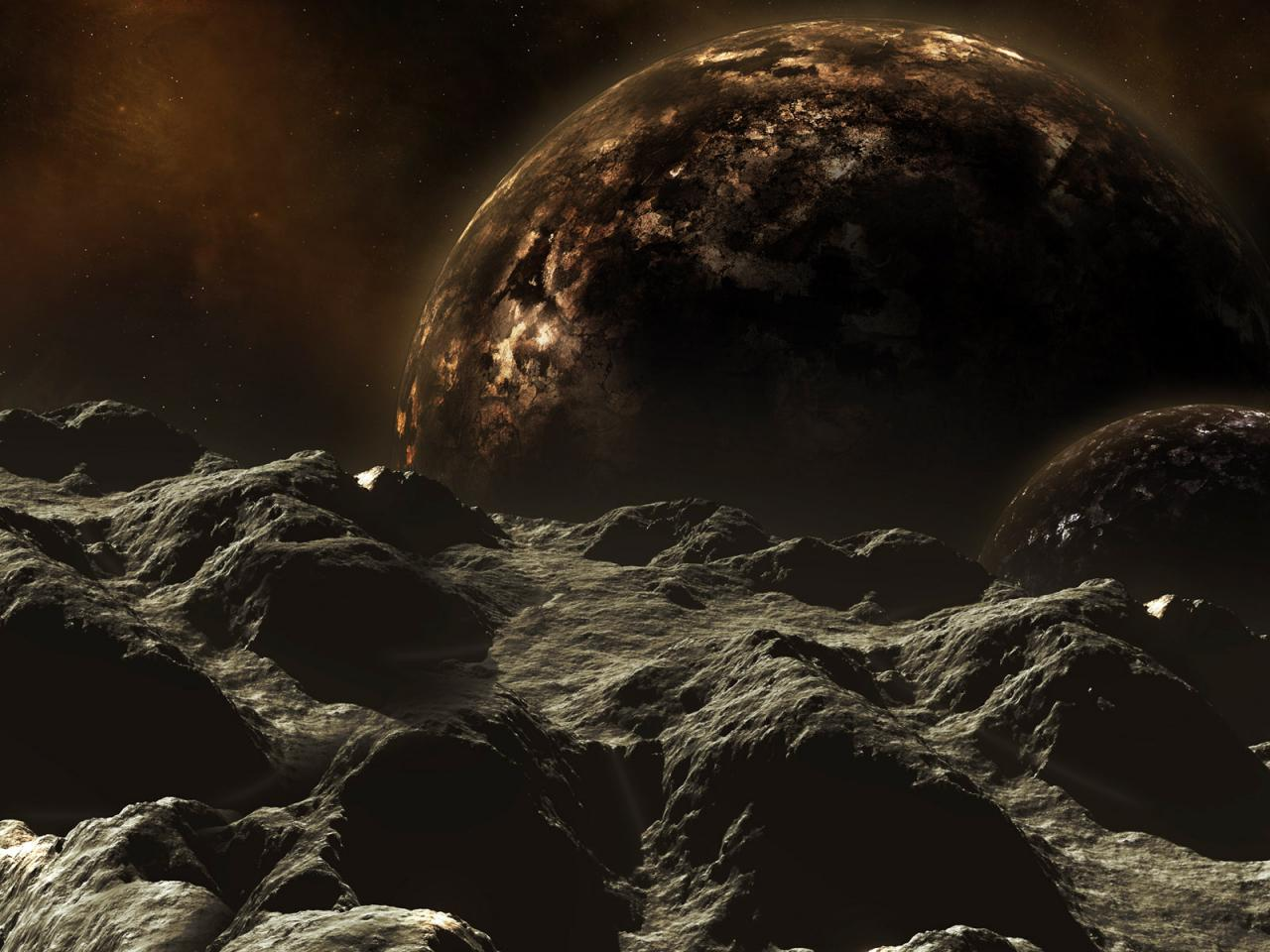 space planets 1280x960
