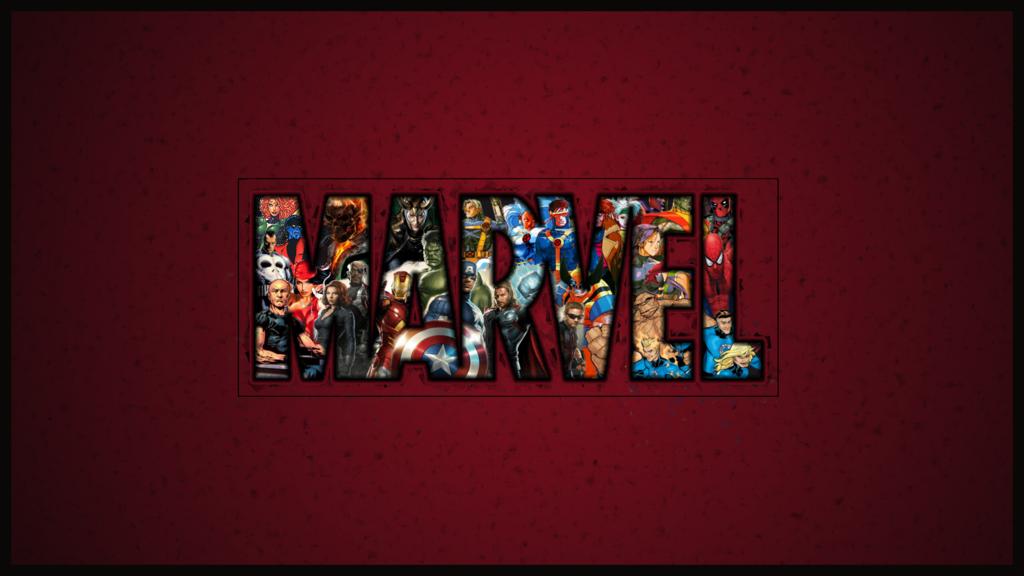 Marvel Logo Wallpaper Wallpapersafari